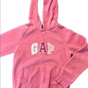 Gap Girl Lg Pink Sweatshirt Hoodie